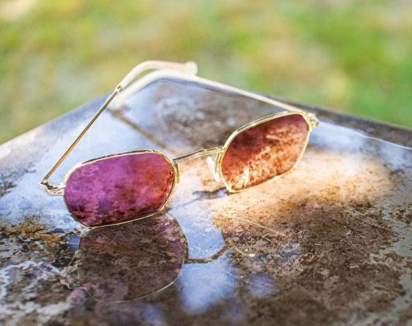 HS770S-03 occhiali da sole lenti burgundy