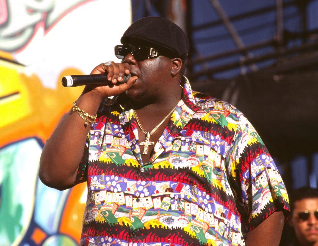 Notorious B.I.G. singing