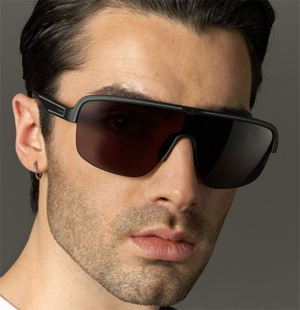 police arcade men sunglasses