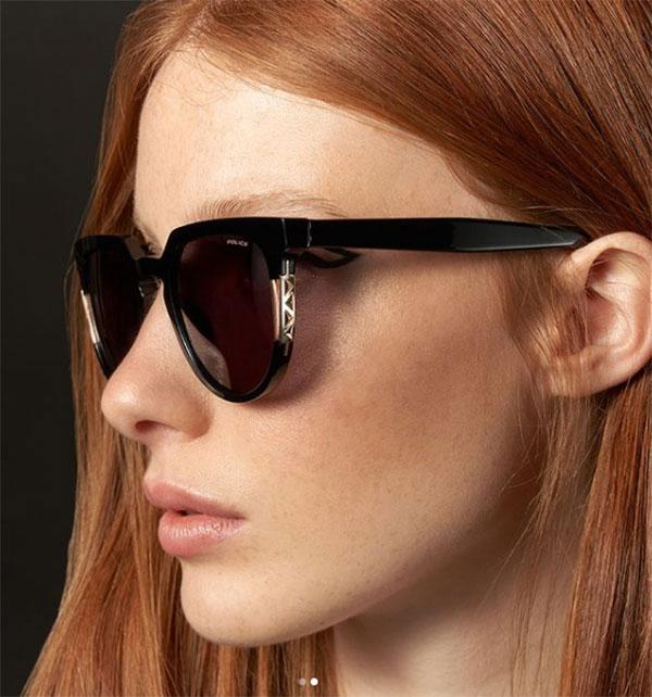 police women sunglasses havana