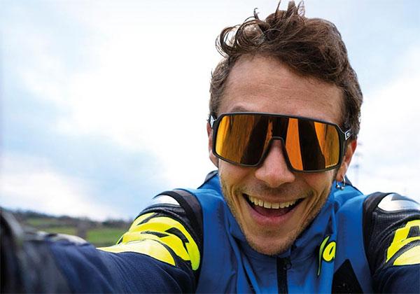 Valentino Rossi Oakley sunglasses