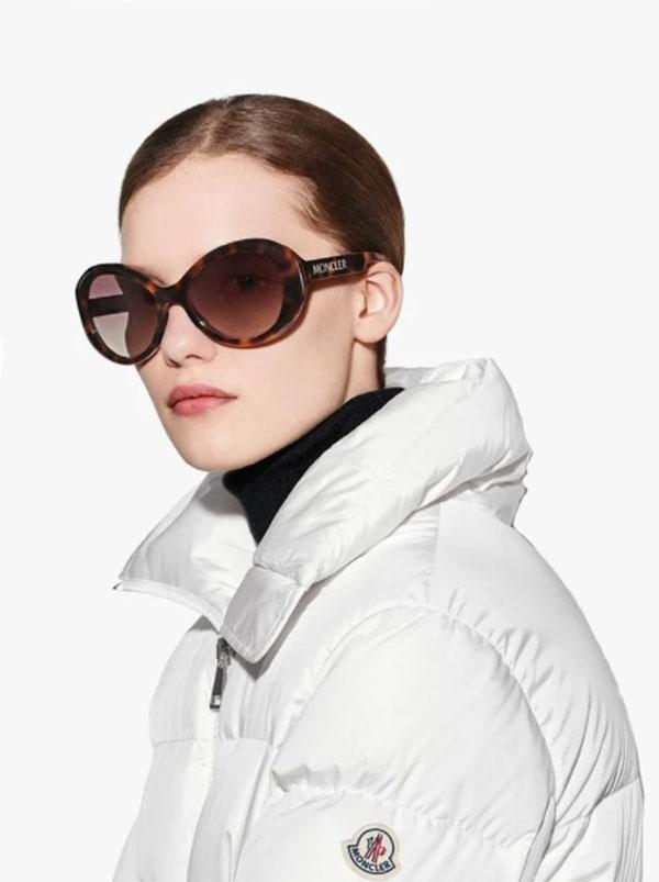 moncler women sunglasses butterfly shape