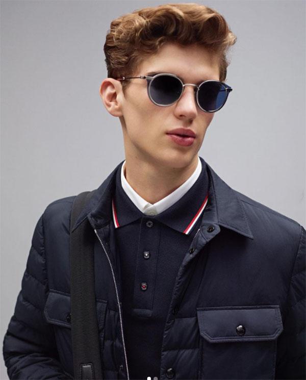 Moncler sunglasses blue lenses